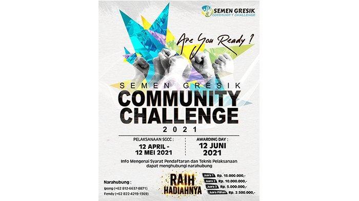Apresiasi Kegiatan Sosial Komunitas Se-Jateng, Semen Gresik Adakan SGCC 2021