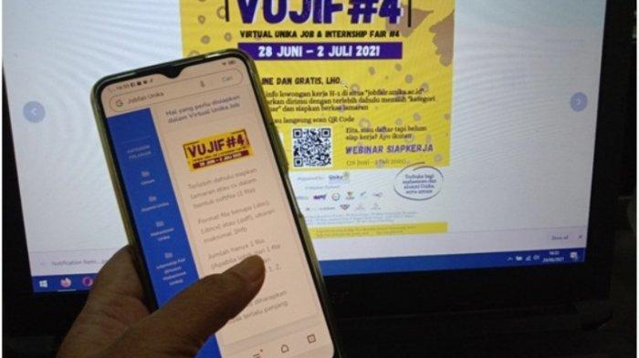 Cari Kerja? Ikuti Saja Job Fair Virtual yang Digelar SSCC Unika Sampai 2 Juli Mendatang