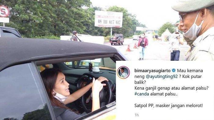 Seusai Ketemu Ayu Ting Ting, Petugas Satpol PP Dikenakan Sanksi karena Masker Melorot