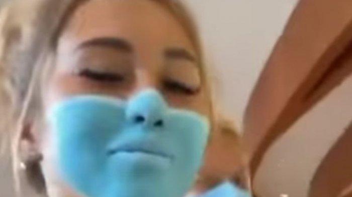 WNA Lukis Wajah Mirip Pakai Masker hingga Berhasil Kelabui Satpam Swalayan di Bali