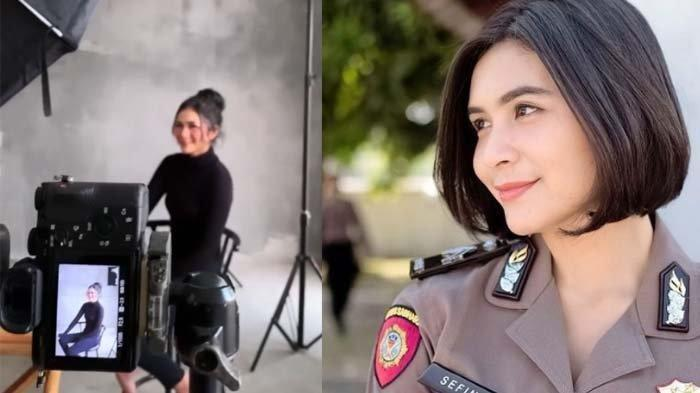 Sosok Briptu Sefin Polisi Wanita Polwan Cantik Mirip Artis, Bikin Warganet Terpesona