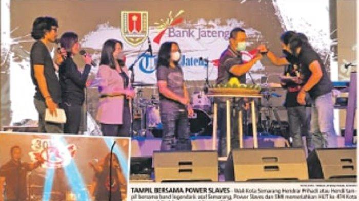 Hendi dan Heidy Duet Nyanyi 'Oh Kasih' Meriahkan HUT Kota Semarang