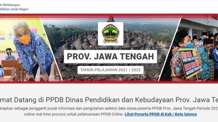 Pendaftaran PPDB Jateng 2021 Siswa SMA SMK: Pelaksanaan, Tahap Pendaftaran hingga Cara Akses Website