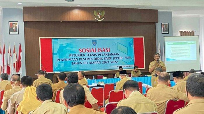 Pelaksanaan PPDB untuk SMP di Kabupaten Tegal Mulai 21 Juni 2021, Berikut Persyaratannya