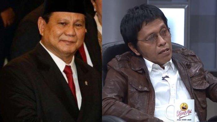 Prabowo Mau Jadi Menhan, Adian Napitupulu Tertawa: Duitnya Habis, Mungkin Ini Upaya Balikin Harta