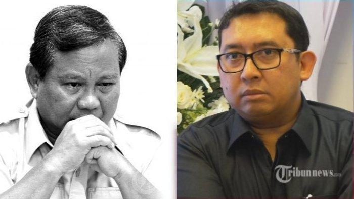 Fadli Zon Kesal Tak Terima Prabowo Jadi Cawapres Jokowi di Pilpres 2024