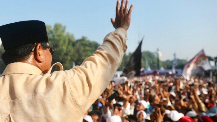 Said Iqbal Pandu Yel Yel Prabowo Presiden di Peringatan Hari Buruh