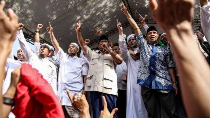 Pidato Prabowo di Hari Buruh: Hai Media-media, Kau Ikut Merusak Demokrasi di Indonesia