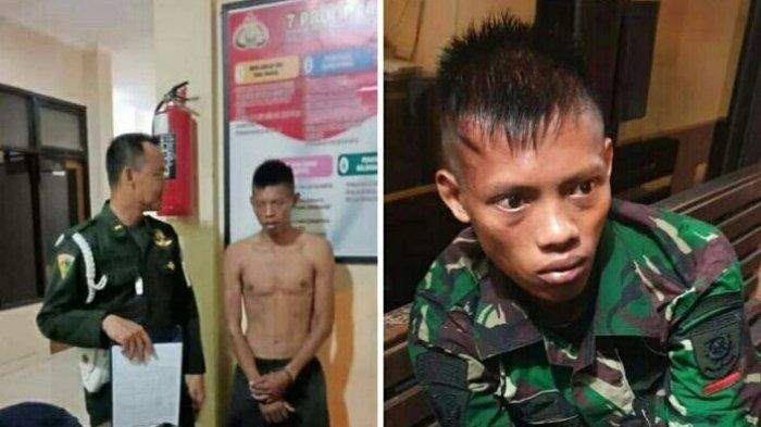 Wajah Anggota TNI AD Gadungan Diamankan di Polsek Semarang Barat, Ternyata Buronan Kasus di Grobogan