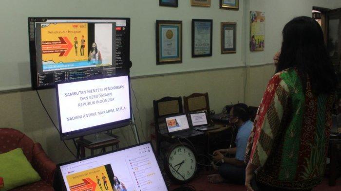 Unika Kenalkan Kampus kepada Mahasiswa Baru secara Virtual