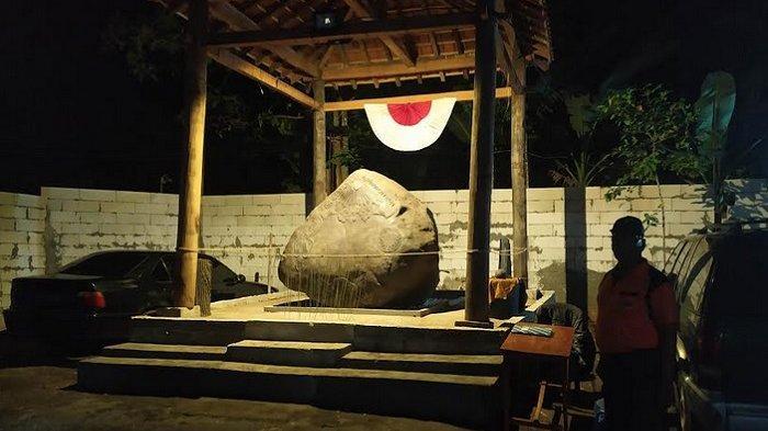 Terungkap, Batu Ukir di Kerajaan Agung Sejagat Purworejo Dibuat Empu Wijoyo Guno Selama 2 Minggu