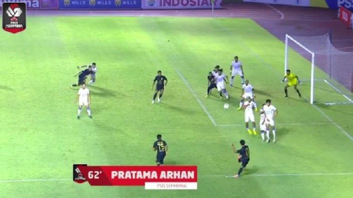 PSIS Semarang Lolos Perempat Final Piala Menpora Setelah Kalahkan Arema FC, Ini Cuplikan Gol-golnya