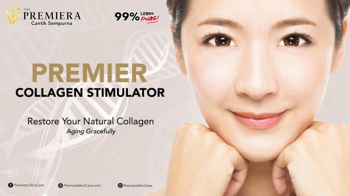 Terbukti! Kolagen alami kembali, wajah muda berseri dengan PREMIER Collagen Stimulator