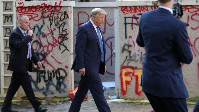 Wali Kota Washington DC Minta Trump Tarik Tentara Nasional dari Wilayahnya, Trump Sebut tak Kompeten
