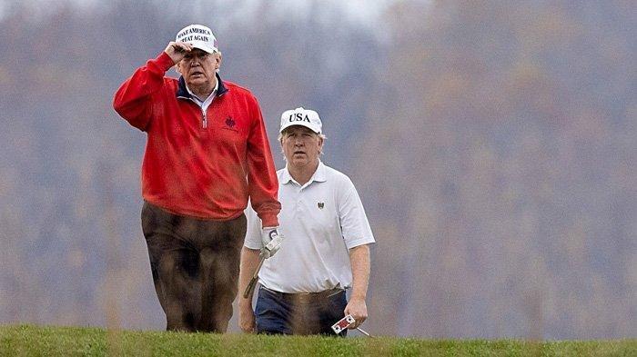 Trump Tinggalkan Forum KTT G20 yang Bahas Covid-19,Pilih Main Golf