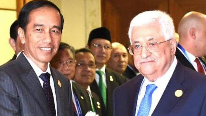 Saat Negara di Arab Berdamai dengan Israel, Presiden Jokowi Tegas Katakan Tidak, Palestina Bahagia
