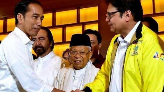Ketua Umum Partai Golkar Airlangga Hartarto Malu-malu Didorong Jadi Capres 2024