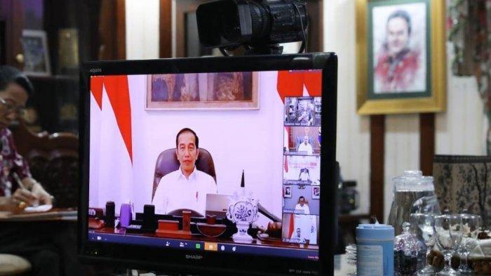 Jokowi Tegaskan, SoalNapi Korupsi Tidak PernahDibahasDalamRapat-rapatKabinet