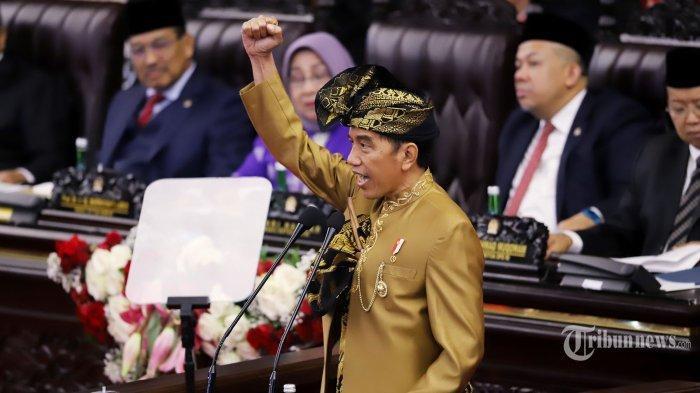 Berhasil Sentil Anggota DPR dan Banjir Tepuk Tangan, Begini Reaksi Jokowi