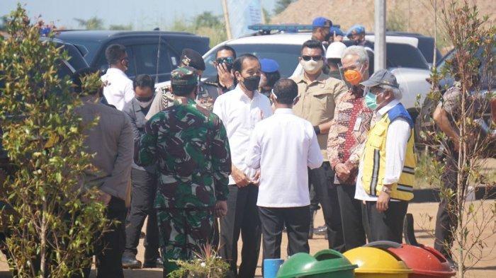 Cek Progres KIT Batang, Jokowi: Mei Groudbreaking Industri Kaca Terbesar Asia Tenggara