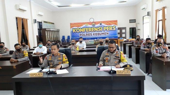 Seluruh Kasus Pencurian dengan Pemberatan di Wilayah Kebumen Berhasil Diungkap Polisi