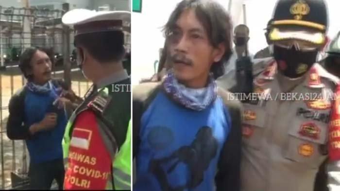 Viral Video Terpergok Tak Pakai Masker, Pria Ini Ngamuk Ancam Bakal HancurkanDunia