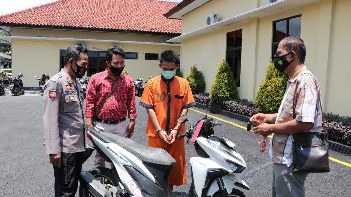 Pria Kebumen Maling Motor Teman Sendiri, Tersangka Pura-pura Khawatir Ikut Cari