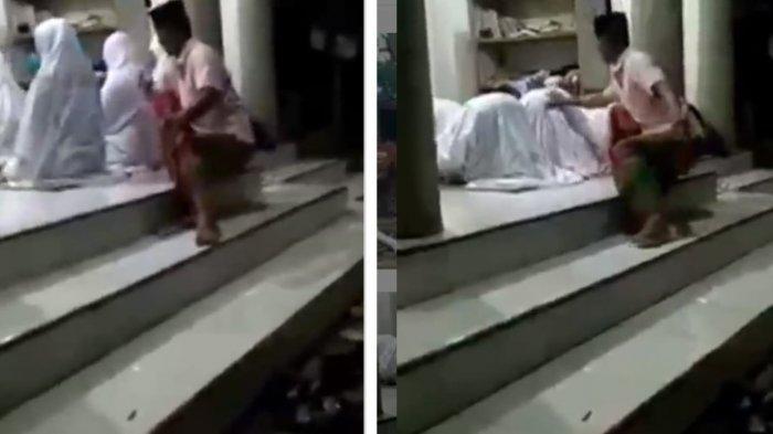Viral Pria Berpeci Lecehkan Jamaah Wanita Saat Salat, Pegang Bagian Belakang Korban Ketika Sujud