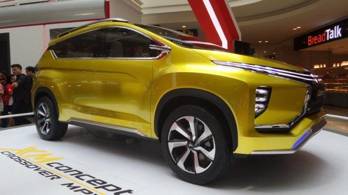 Ini Dia Mobil XM Concept, Produk Terbaru Mitsubishi, Tampil Kokoh dan Sporty
