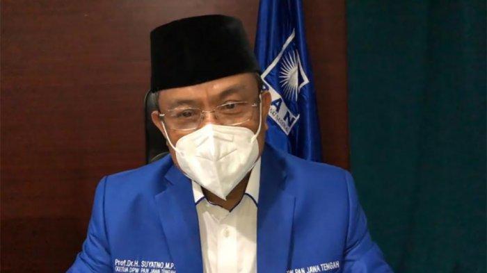 WANSUS Prof Suyatno Tanggalkan Jabatan Rektor dan PP Muhammadiyah demi PAN