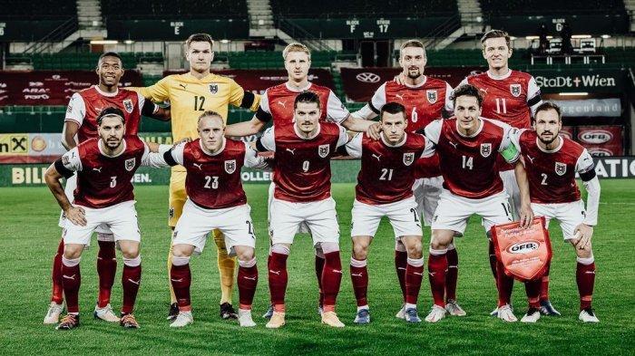 Profil Timnas Austria Kontestan Euro 2021 Grup C