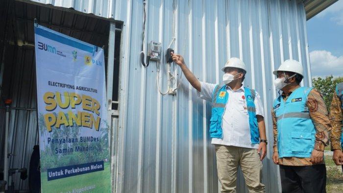Program Electrifying Agriculture PLN telah dimanfaatkan banyak pelaku usaha agribisnis di Jawa Tengah