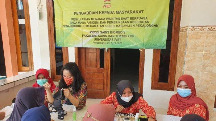 Program Studi Sains Biomedis Universitas Ivet Semarang Adakan Penyuluhan
