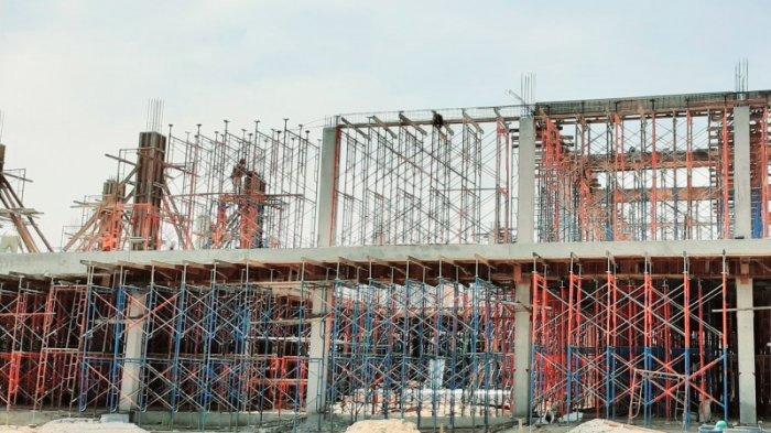 Progres Pembangunan Perpusda Kabupaten Kendal Sudah Masuk Pengecoran Lantai 2