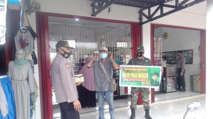Polres Wonogiri Sosialisasi Prokes di Pasar dan Hajatan
