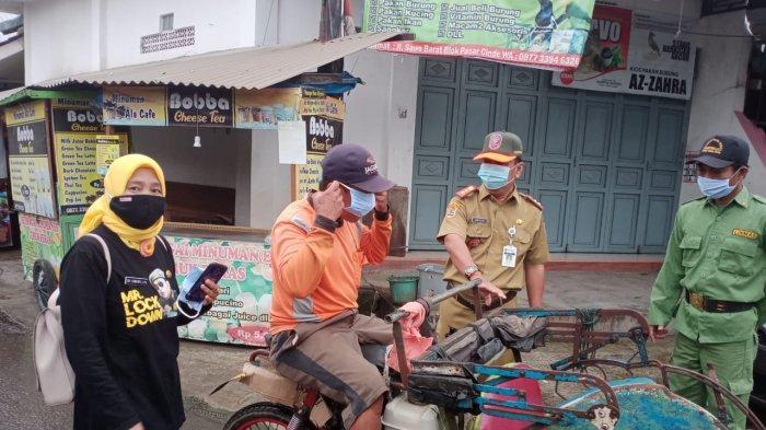 Masyarakat di Kelurahan Kraton Tegal 90 Persen Taati Protokol Kesehatan