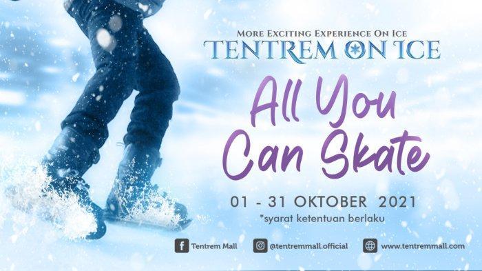 Tentrem On Ice Rilis Promo Baru, Bermain Ice Skating Sepuasnya Seharian Penuh