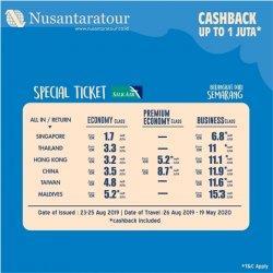 Cari Promo Liburan? Yuk, Ikut Event Travel Fair dari Nusantaratour