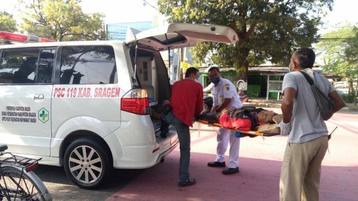 Slamet Karanganyar Meninggal Kecelakaan Motor Tabrak Motor Sampah 3 Roda DLH Sragen: Sempat Kejang