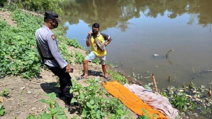 Warga Plupuh Sragen Ditemukan Tewas Mengapung di Aliran Sungai Bengawan Solo