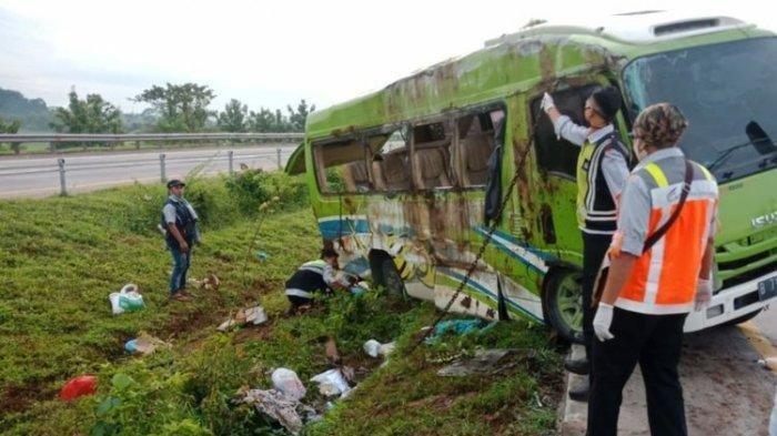 Kecelakaan Maut Elf di Tol Cipali, 4 Warga Kebumen Meninggal, Begini Kronologinya