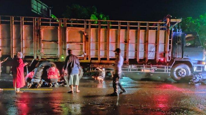 Pemotor Tertabrak Truk Tronton di Sragen, Gasmi Tewas Dengan Luka Berat di Kepala