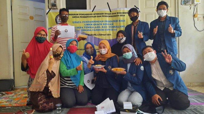 Mahasiswa Undip Semarang Dampingi UMKM Olah Ikan Segar Jadi Nugget dan Pastel Abon