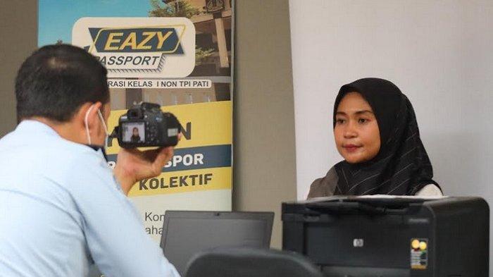 Lewat Eazy Passport, Bikin Paspor di Imigrasi Pati Kini Lebih Mudah