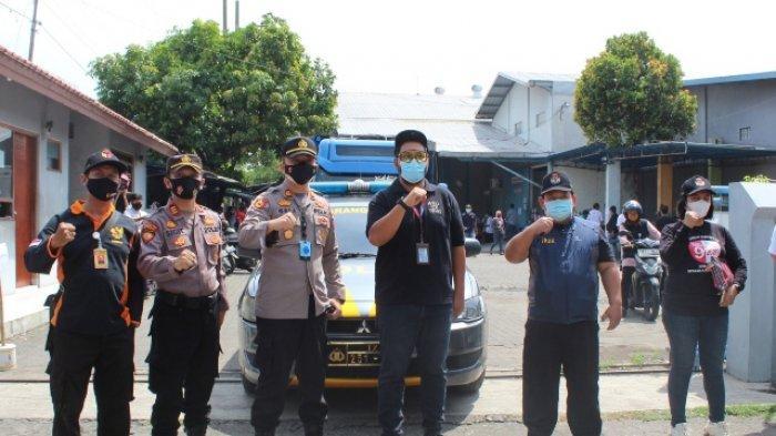 Operasi Mantap Praja, Polsek Kawal Ketat Distribusi Logistik dan APD Pilwalkot Semarang 2020