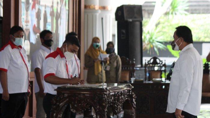 Pengurus E-Sports Indonesia 4 Kabupaten Dilantik Bersamaan di Pati