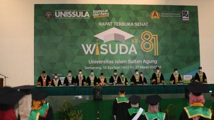 Wisudawan Unissula Semarang Optimis Meski Diwisuda di Era Resesi Ekonomi
