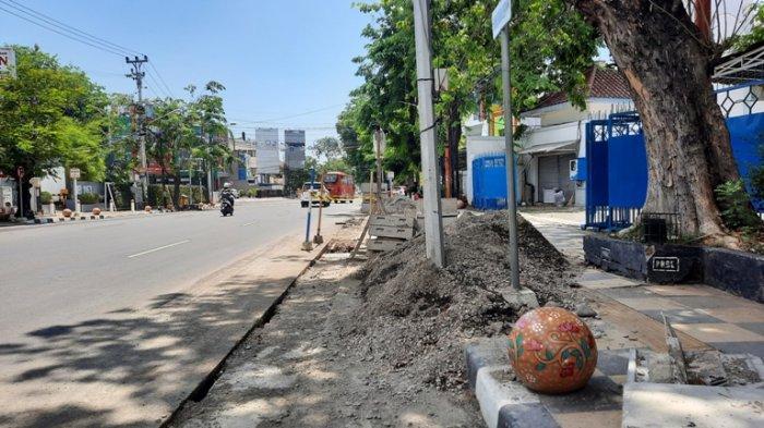 Berantakan, Pemkot Semarang Minta Pelaksana Proyek Ducting Rapikan Galian Jalan dan Sisa Material