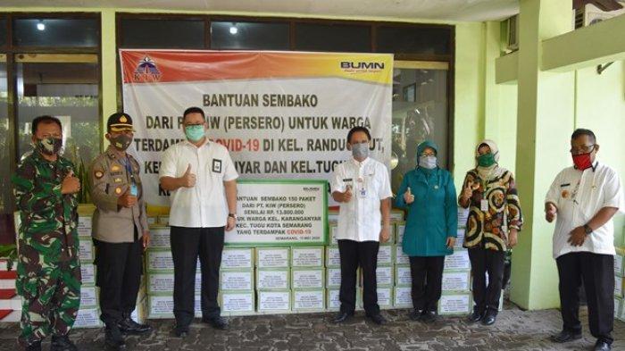 KIW Sumbangkan 450 Paket Sembako untuk Warga Terdampak Covid-19 di Kecamatan Tugu Semarang