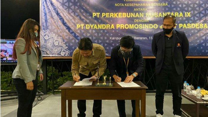 Kembangkan Kampung Kopi Banaran, PTPN IX Gandeng Kompas Gramedia